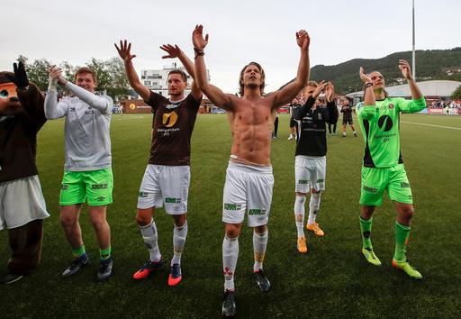 NM Cup fotball menn, 3. runde Mjøndalen - Strømsgodset.