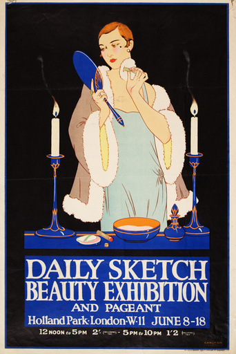 Daily Sketch Beauty Exhibition
