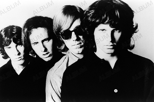 Promotional photo of The Doors in late 1966.