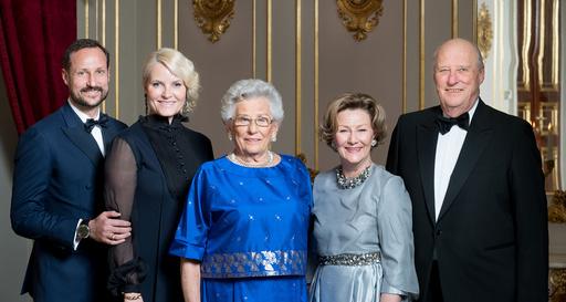 Prinsesse Astrid (midten) sammen med f.