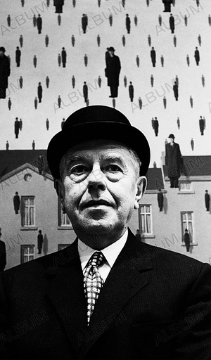 René Magritte at MOMA.