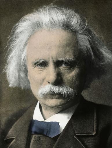 Edvard Grieg / Foto um 1905 - Edvard Grieg / Photo, c.1905 -
