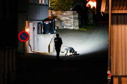 Politiet gjør undersøker i Kongsberg sentrum etter angrepet onsdag. Foto: Håkon Mosvold Larsen / NTB