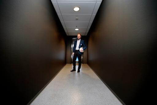 Pål Bjerketvedt, ny generalsekretær i NFF, er opptatt av at 2017 skal bli et godt år for norsk fotball og tror på Lars Lagerbäck som en betydelig bidragsyter.