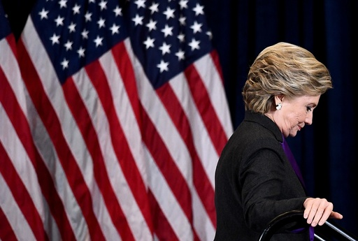Hillary Clinton Makes A Statement After Loss In Election