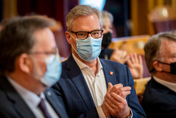 Frps parlamentariske nestleder Hans Andreas Limi. Foto: Heiko Junge / NTB