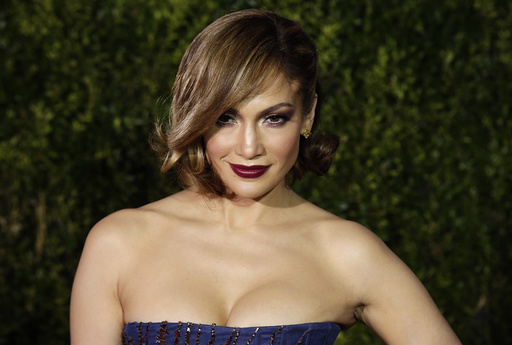 Singer Jennifer Lopez arrives for the American Theatre Wing's 69th Annual Tony Awards at the Radio City Music Hall in Manhattan