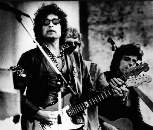 Folk Singer Bob Dylan 1941 -