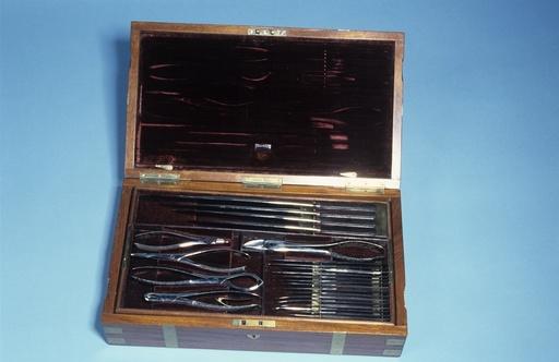 Amputation set, circa 1850