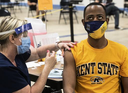 Over 6,8 millioner amerikanere har fått koronavaksinen til Johnson & Johnson. Foto: Phil Long / AP / NTB