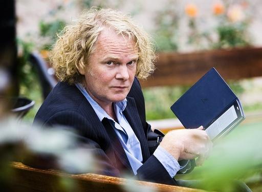 Torgrim Eggen, forfatter, med ebok.