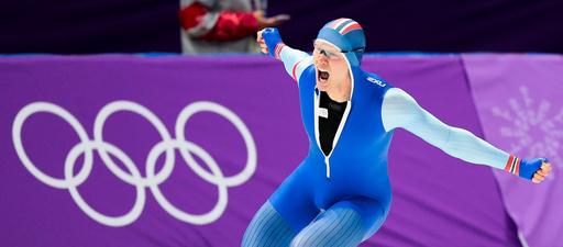 Vinter-OL. Olympiske leker i Pyeongchang 2018. Skøyter menn 500 m.