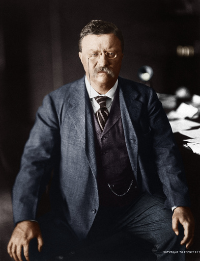 Theodore Roosevelt / Foto um 1910 - Theodore Roosevelt / Photo, c.1910 -