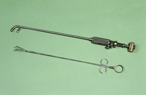 Lithotomy instruments, circa 1870