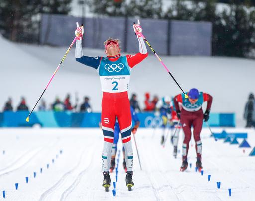 Vinter-OL. Olympiske leker i Pyeongchang 2018. Langrenn sprint menn.
