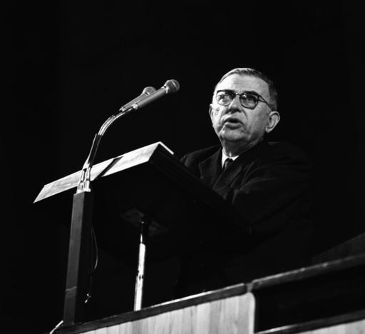 Sartre / Foto, 1960 - Sartre / Photo / 1960 - Sartre / Photo / 1960