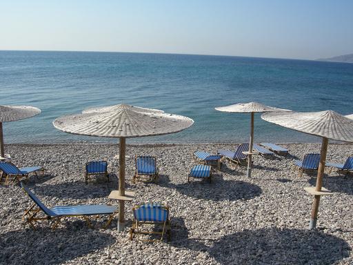 Chios i Hellas. Illustrasjonsfoto: Solveig Vikene / NTB scanpix