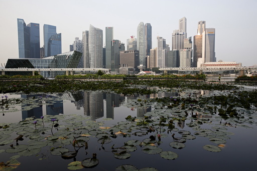 Wider Image: Earthprints: Singapore