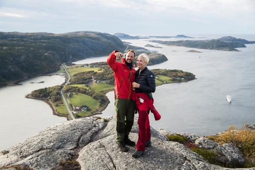 Kronprinsparets fylkestur til Nord-Trøndelag 2017