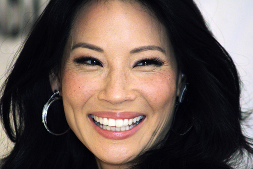 File photo of actress Lucy Liu attending a news conference in Mexico City