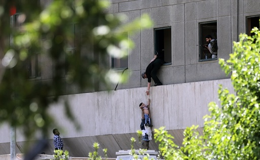 Iran twin attacks leave at least seven dead