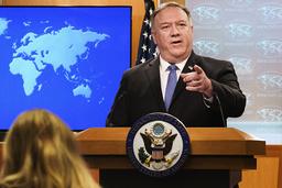 USAs tidligere utenriksminister Mike Pompeo er ikke særlig populær hos kinesiske myndigheter. Foto: Jacquelyn Martin / AP / NTB