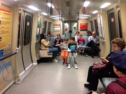 Subway Swing Makes Commuting Childâä™s Play for San Francisco Residents.