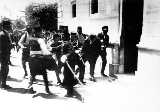 WWI - Assassination in Sarajevo 1914