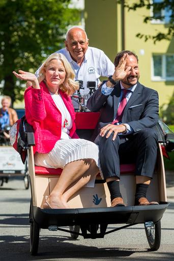 Kronprinsparet besøker Bydel Sagene