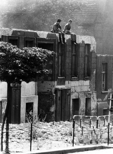 Berlin Wall 1965 - Bernauer Street