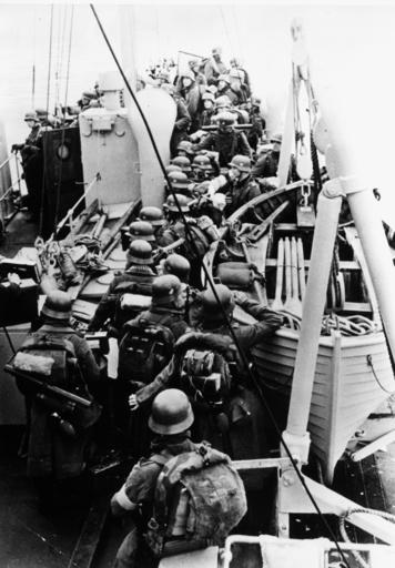 Norwegen 1940/Landung dt. Truppen... - Norway 1940/Landing of German troops -
