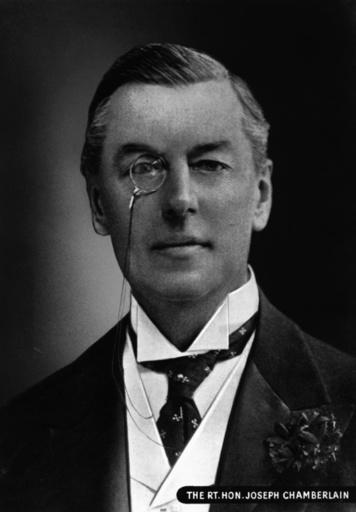 Sir Austen Chamberlain / Foto um 1905 - Sir Austen Chamberlain / Photo c.1905 -