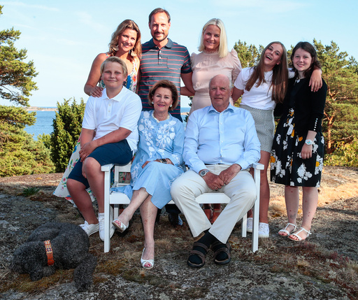 Kronprins Haakon 45 år.