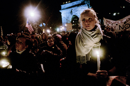 USA. New York. Demo for Peace.