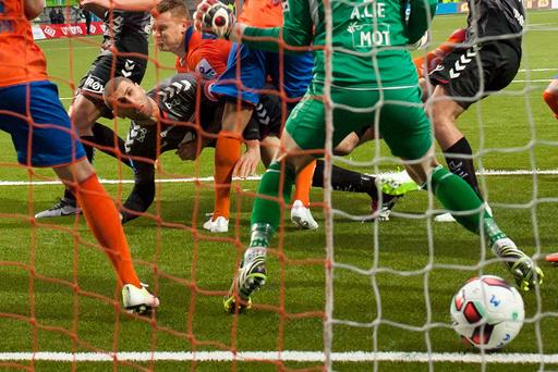 Fotball: Aalesund - Brann (1-2)