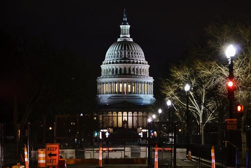Kongressbygningen som ble stormet 6. januar. Foto: J. Scott Applewhite / AP / NTB