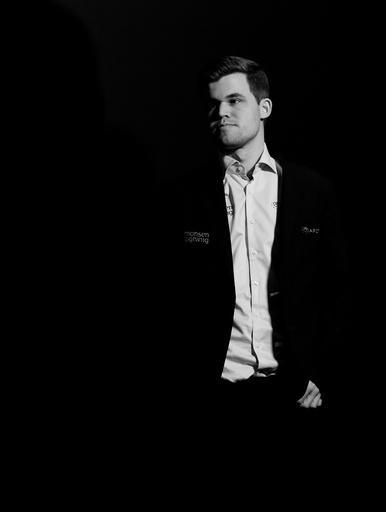 Magnus Carlsen deltar på event