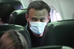 Aleksej Navalnyj returnerte til Russland søndag. Han ble pågrepet etter kort tid og senere fengslet. Foto: Mstyslav Chernov / AP / NTB
