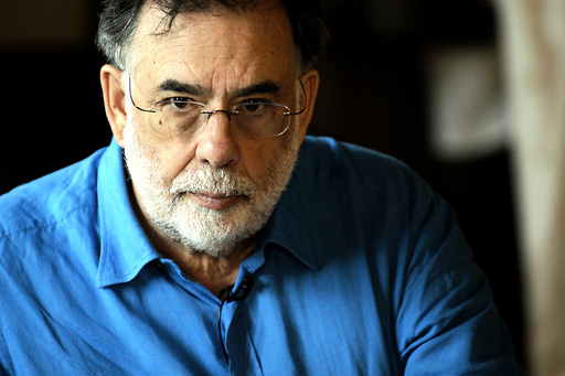 YOUTH WITHOUT YOUTH, director Francis Ford Coppola, on set, 2007. ©Sony Pictures Classics/courtesy E