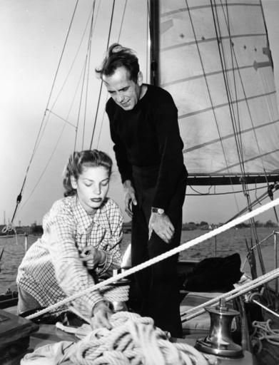 Humphrey Bogart mit Lauren Bacall - Humphrey Bogart with Lauren Bacall/ 1947 - Bogart, Humphrey