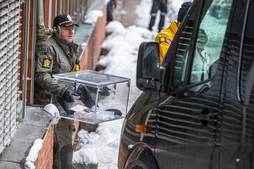 Brev med mistenkelig pulver funnet på Universitetet