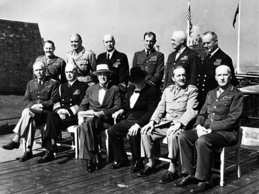 2. Konferenz von Quebec 1944 / Foto. - 2nd Quebec Conference / 1944 / Photo -