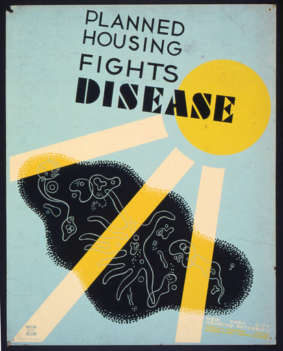 Planned housing fights disease