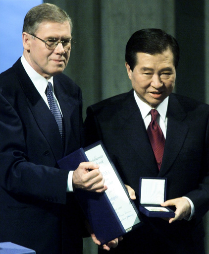 Kim Dae-jung, Gunnar Berge
