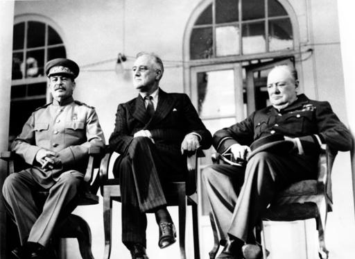 Stalin Roosevelt Churchill