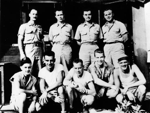 Hiroshima/Bomberbesatzung 'Enola Gay'... - Hiroshima / Crew of the 'Enola Gay'... - Deuxième Guerre mondiale / Guerre du Pacifique, 1941-45 : ex