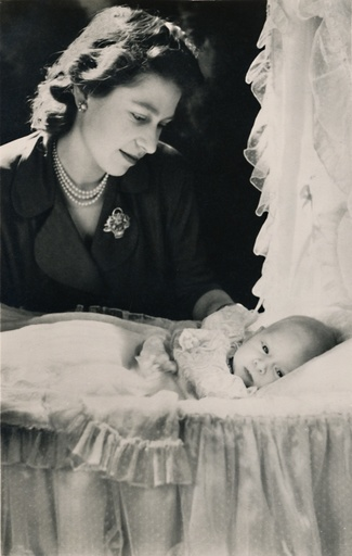 'Princess Elizabeth with her Infant Son Prince Charles', 1948. Creator: Cecil Beaton.