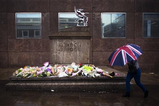Aftermath of London Bridge terror attack