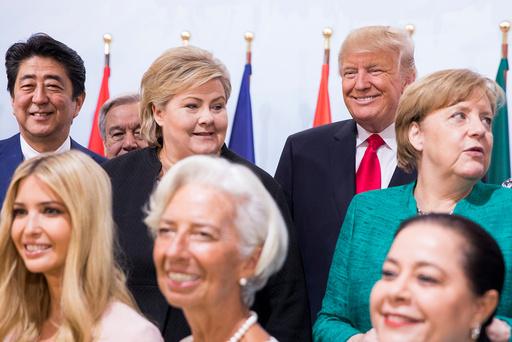 G20 møte i Hamburg.