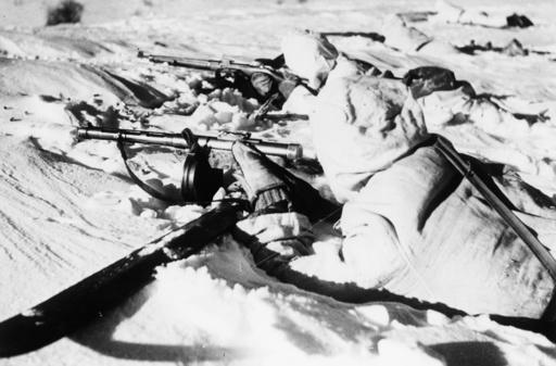 Finnische Skipatrouille 1939/40 - Finish Ski patrol 19439/40 -